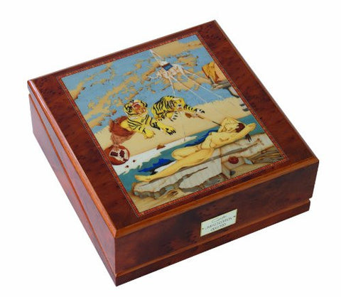 Orbita Giglio Dali 3 Watch Winder With Inlaid Veneers