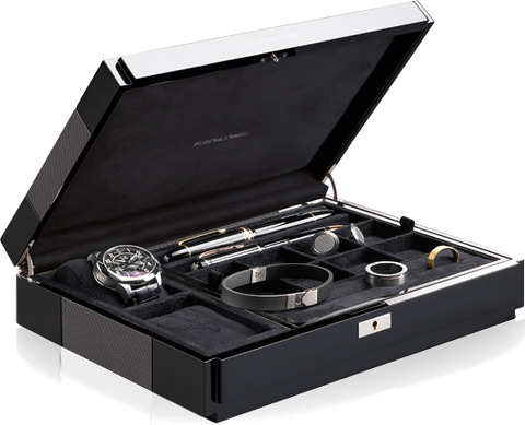 Buben & Zorweg Vantage Gentleman's Multi Storage Case in Carbon