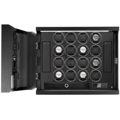 Buben & Zorweg Guardian 16 Time Mover Watch Winder In Carbon