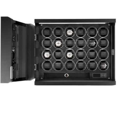 Buben & Zorweg Guardian 24 Time Mover Watch Winder In Carbon
