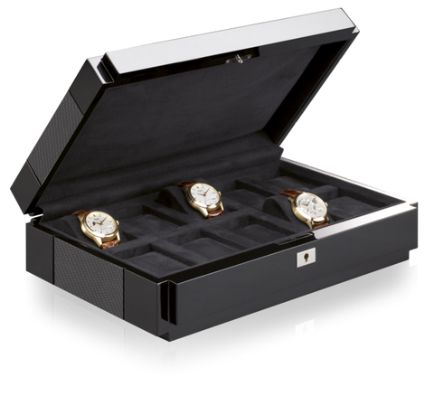 Buben & Zorweg Vantage 10 Watch Case in Carbon