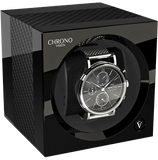 Chronovision 1 Single-Unit Watch Winder in Carbon & Black Gloss