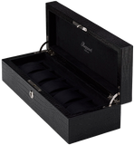 Rapport 5-Unit Brompton Watch Box in Black Croco L262