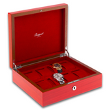 Rapport Heritage Wood Watch Box in Red L421