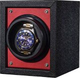 Orbita Piccolo Single-Unit Watch Winder In Red