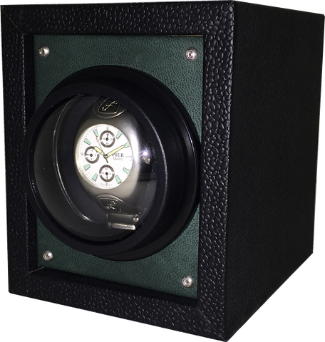 Orbita Piccolo Single-Unit Watch Winder In Green