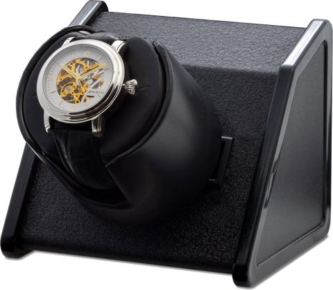 Orbita Sparta Single-Unit Watch Winder in Bold Black