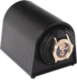 Orbita Sparta Mini Single-Unit Watch Winder In Black Leatherette