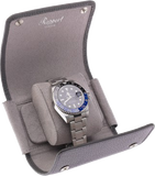 Rapport Single Berkeley Watch Roll in Grey Leather D192