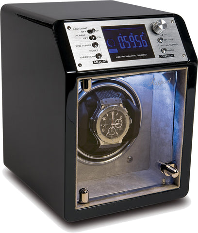 Rapport Cosmic Watch Winder Single in Ebony W631