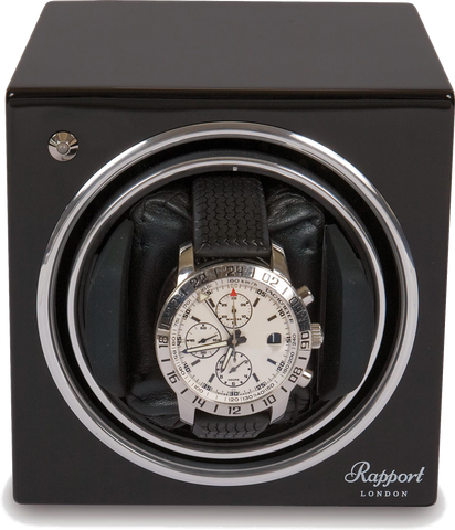 Rapport Evolution Watch Winder in Black