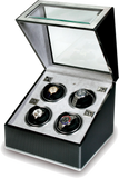 Rapport F3 Optima Watch Winder in Carbon/Aluminium W254