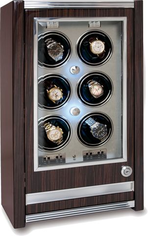 Rapport Paramount Watch Winder in Macassar W406