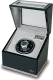 Rapport Optima Watch Winder in Ebony/Aluminium W261