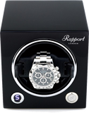 Rapport Evolution Cube Watch Winder Single in Black EVO20