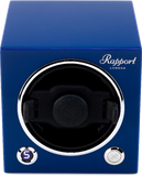 Rapport Evolution Cube Watch Winder Single in Blue EVO22