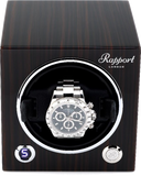 Rapport Evolution Cube Watch Winder Single in Macassar EVO31