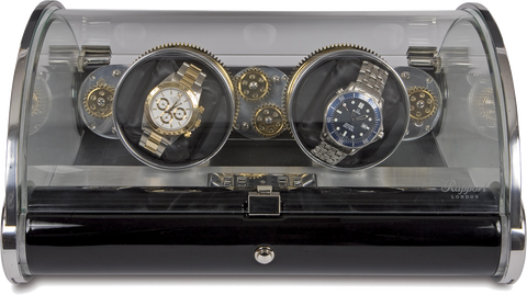 Rapport Time Arc Optima Watch Winder Duo W191
