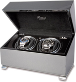 Rapport Vogue Watch Winder Duo in Carbon W372
