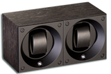 Swiss Kubik SK02.BWE001 2-Unit Watch Winder in Black Wenge Wood