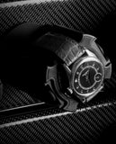 Scatola del Tempo 21RT XXL Armored Watch Winder In Carbon