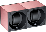 Swiss Kubik SK02.AE009 2-Unit Watch Winder in Pink Anodized Aluminum