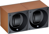 Swiss Kubik SK02.AE015 2-Unit Watch Winder in Taupe Anodized Aluminum