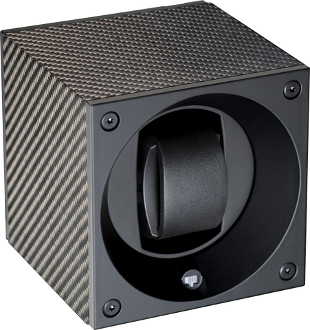 Swiss Kubik SK01.CF001 Single Automatic Watch Winder in Carbon Fiber