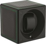 Swiss Kubik SK01.CV.RC-GRN Single Watch Winder in Specialty Leather Racing Green
