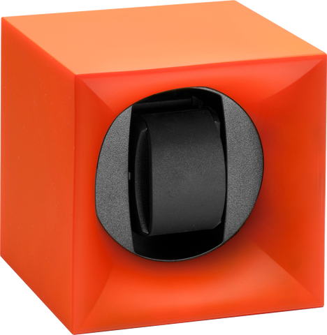 Swiss Kubik SK01.STB010 Startbox Single Watch Winder in Orange