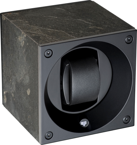 Swiss Kubik SK01.GS002 Single Watch Winder in Dark Granite Stone