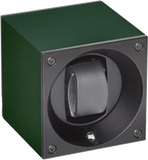 Swiss Kubik SK01-AE014 Single Watch Winder in Dark Green Anodized Aluminum