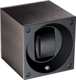 Swiss Kubik SK01.AE001 Single Watch Winder in Black Anodized Aluminum