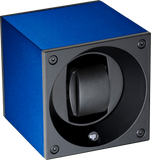 Swiss Kubik SK01.AE004 Single Watch Winder in Navy Blue Anodized Aluminum