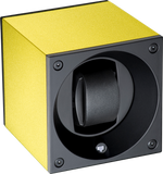 Swiss Kubik SK01.AE011 Single Watch Winder in Citrus Anodized Aluminum