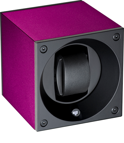 Swiss Kubik SK01.AE013 Single Watch Winder in Purple Anodized Aluminum