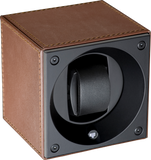 Swiss Kubik SK01.CV004 Single Watch Winder in Brown Leather