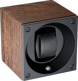 Swiss Kubik SK01.BWE001 Single Watch Winder In Natural Wedge Wood