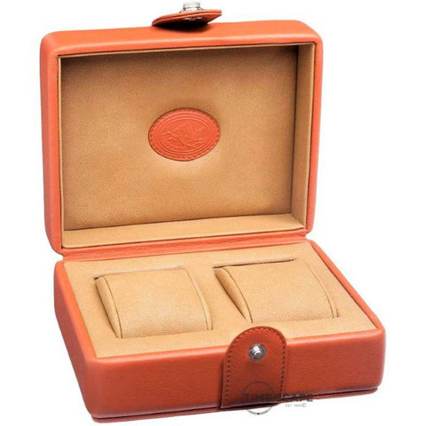 Underwood (London) - 2-Unit Watch Storage Case in Tan Leather
