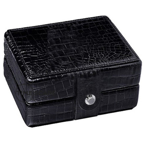 Underwood (London) - Single Watch Storage Case in Black Croco