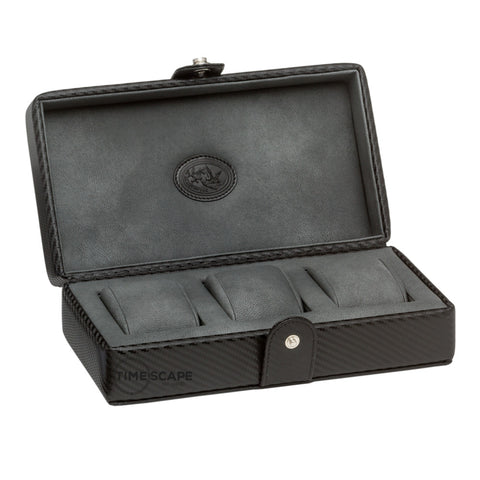 Underwood (London) - 3-Unit Watch Storage Case in Carbon Fiber