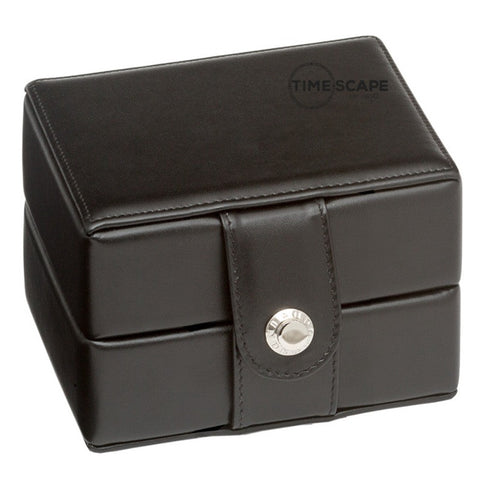 Underwood (London) - Single Watch Storage Case in Black Leather