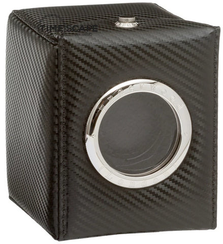 Underwood (London) - Single Classic Porthole Watch Winder in Carbon Fiber
