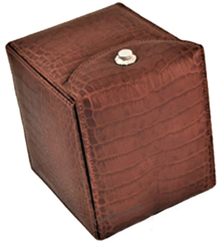 Underwood (London) - Single Classic Watch Winder in Brown Croco