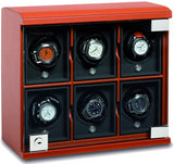 Underwood (London) - 6-Unit Classic Watch Winder in Tan Leather