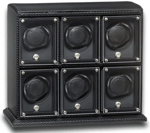Underwood (London) - 6-Unit EVO Watch Winder in Carbon Fiber