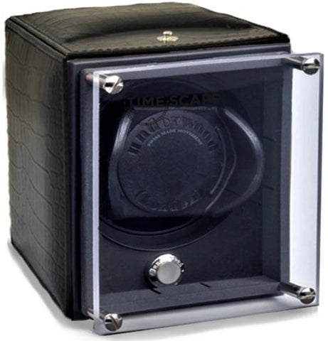 Underwood (London) - Single EVO Watch Winder in Black Croco