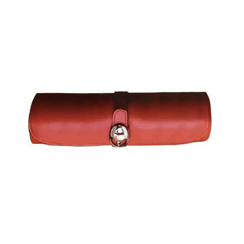 Underwood (London) - Large Watch Storage Roll in Tan Leather