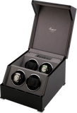 Rapport Perpetua Touch Screen Watch Winder Quad in Ebony W574