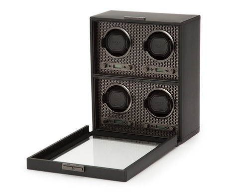 Wolf - Axis 4-Unit Watch Winder | 469503